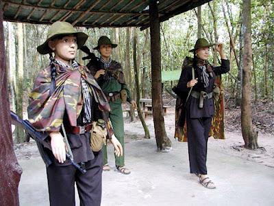 (Vietnam) - Ho Chi Minh (Saigon)- Visit the Cu Chi Tunnels