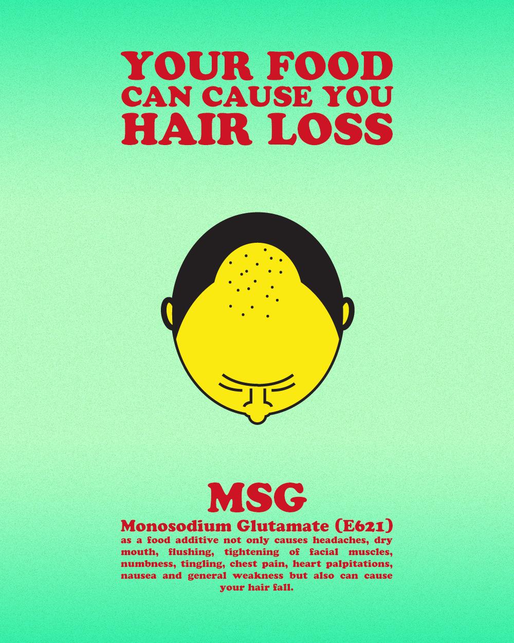 MSG Disadvantage