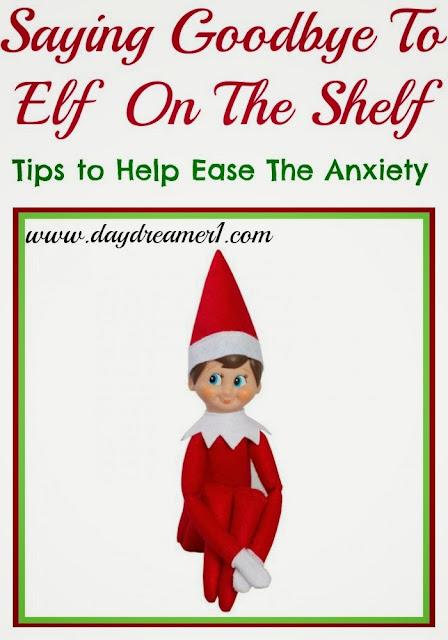 Elf On The Shelf-Saying Goodbye
