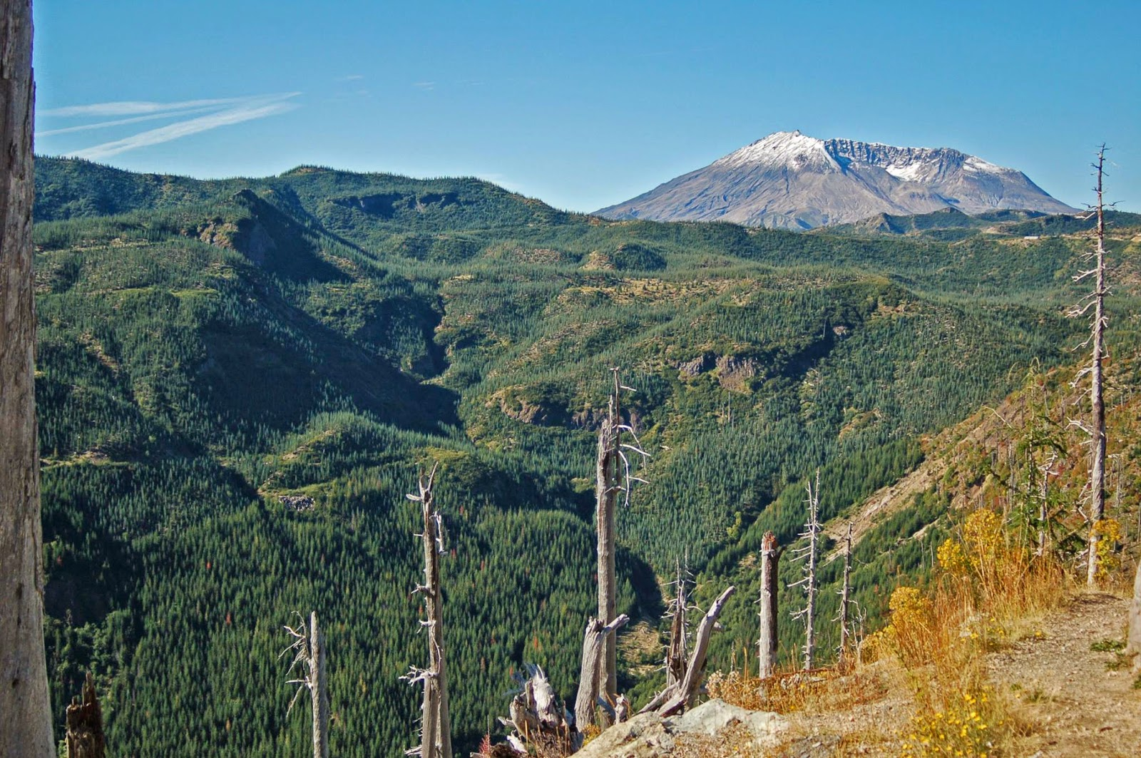 Mount Saint Helens, September 2009