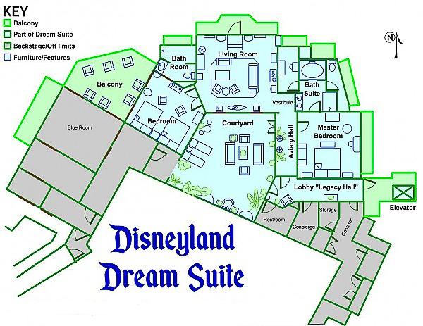 Disneyland Hotel 2 Bedroom Suite Layout 28 Images