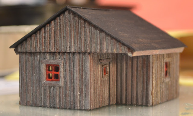 Nirvana Valley Model Railroad Slab Siding Cabin Update