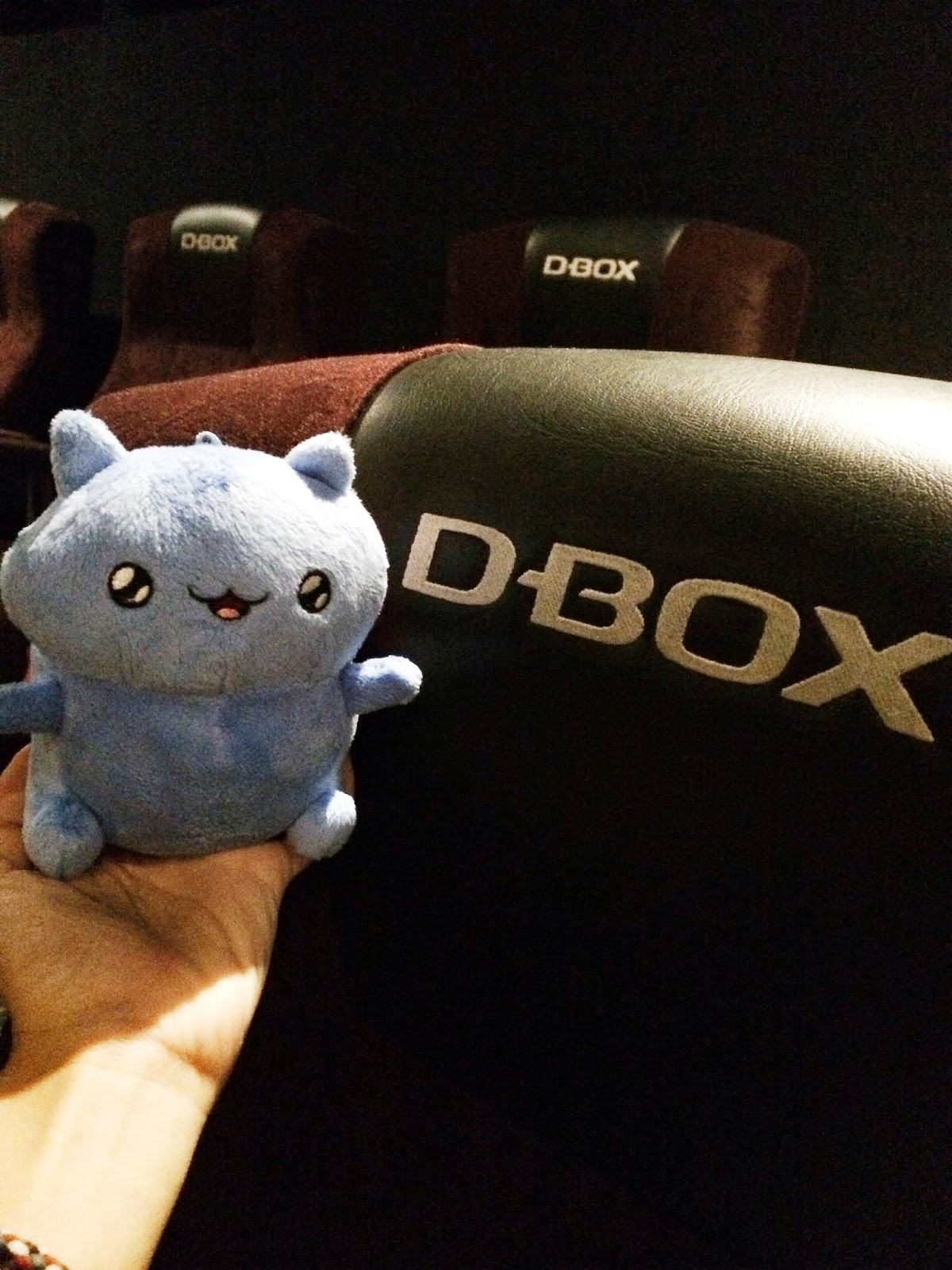 Catbug with D-Box motion seats
