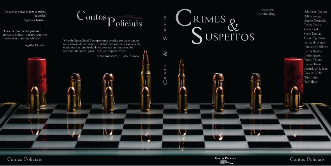 "Conto ""Estranhamento"" de Rafael Vianna é destaque na coletânea ""Crimes e Suspeitos"""