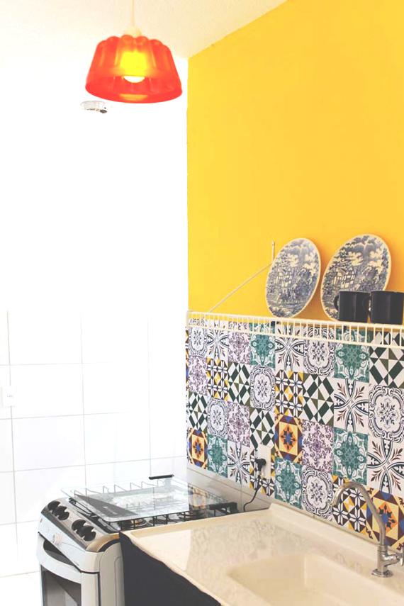 Artesanato Em Florianopolis Sc ~ Colocando tecido na parede tudo que voc u00ea precisa saber
