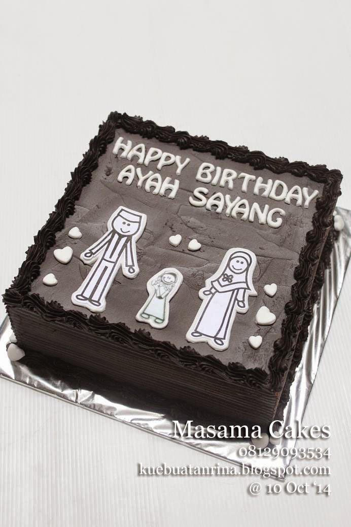 Masama Cakes Chocolate Cake Pesanan Mbak Dewi