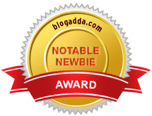 Blogadda Notable Newbie