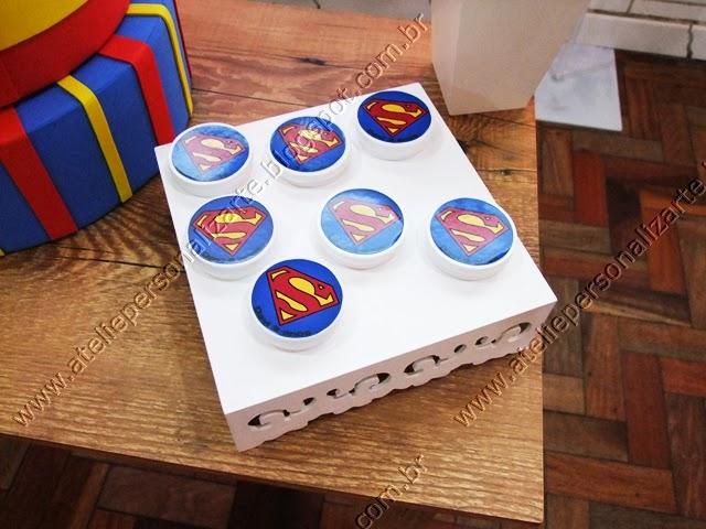 decoração festa infantil Super Homem Porto Alegre