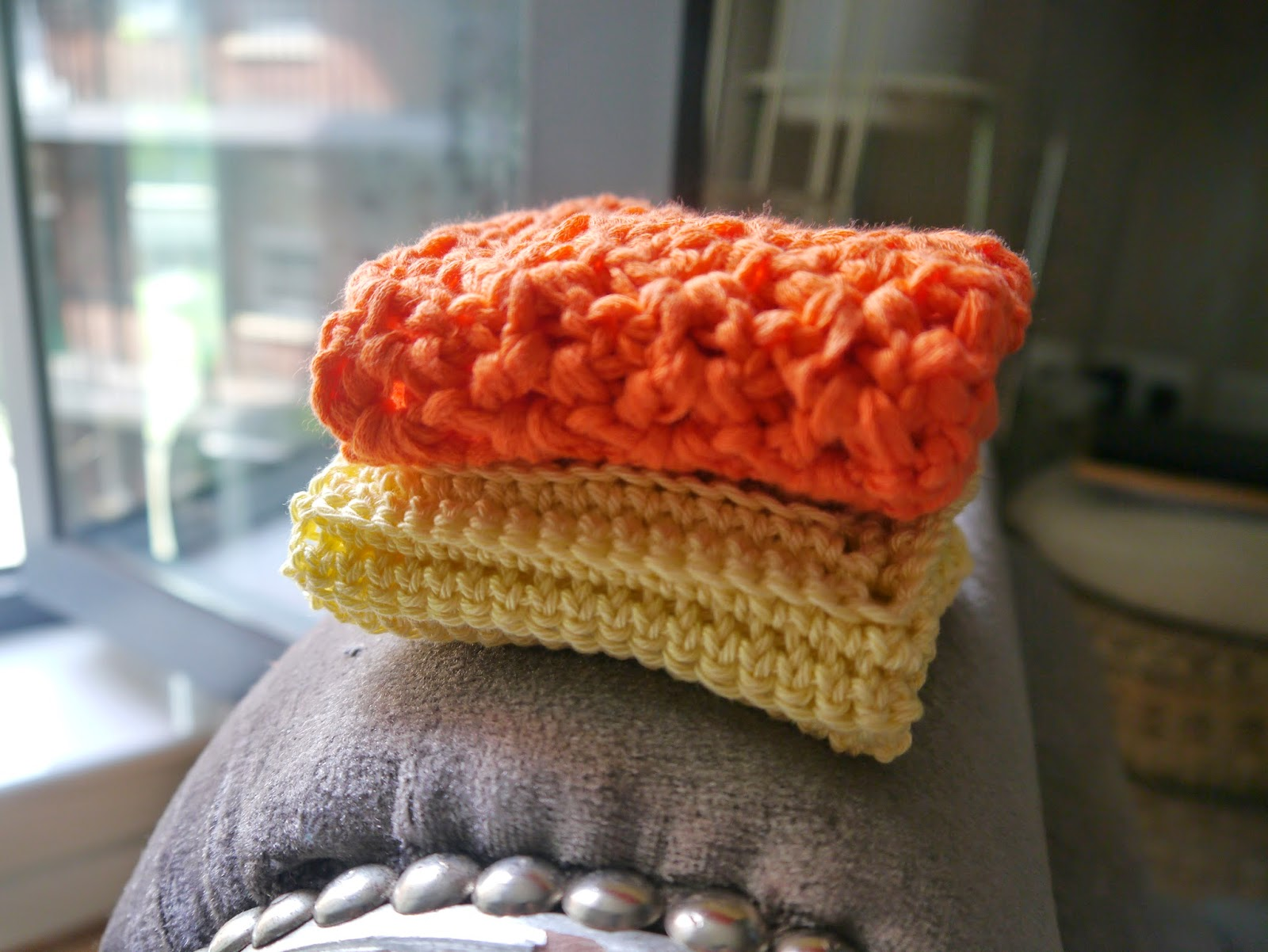 Heldasland Free Textured Crochet Dishclothwashcloth Pattern