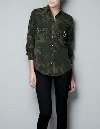 Zara Camouflage Overshirt