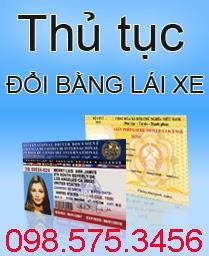 đổi giấy phép lái xe b2