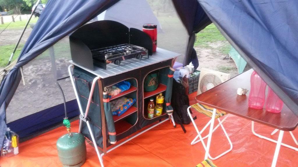 Artesanato Kaminski ~ Salimos de Camping Mueble de cocina Quechua