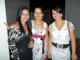 Taís, Juliana e Fabiana.
