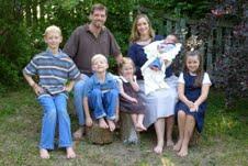 my sister natasha's family