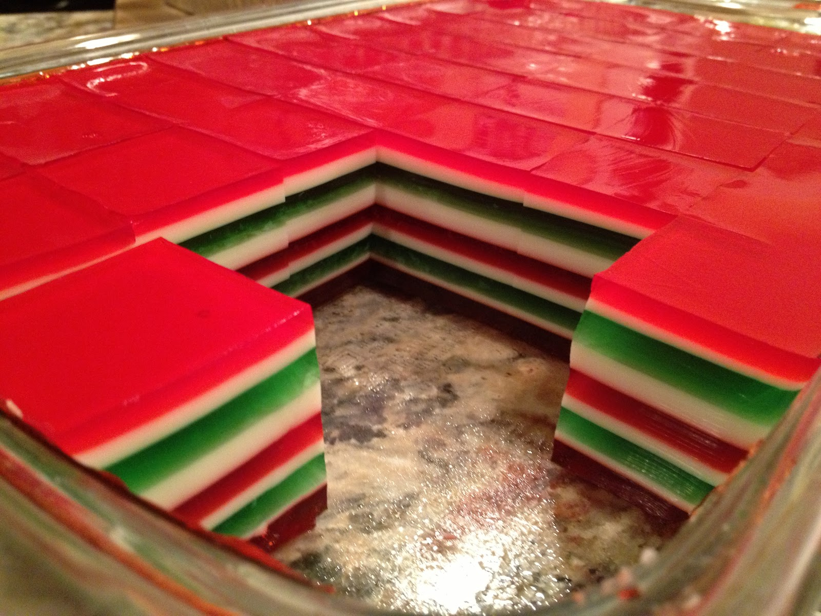 from the desk: Christmas Finger Jello