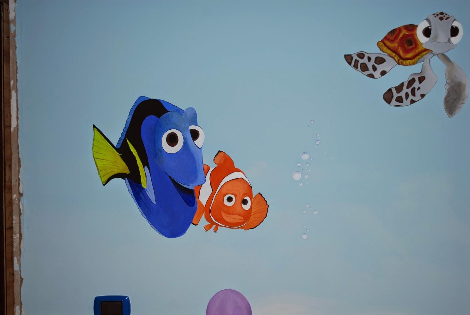 Francesca Decorazioni: Decorazione cameretta da Nemo a Spiderman e ...