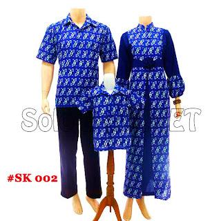 SK002 - Sarimbit Batik Keluarga Pasangan Solo 2013