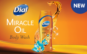 dial miracle oil marsula oil body wash