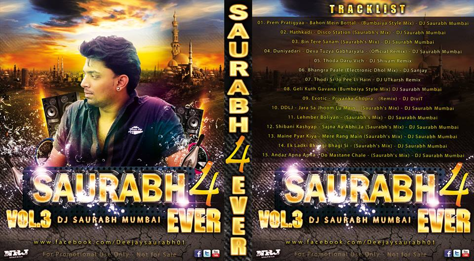 saurabh 4 ever vol 3 dj saurabh mumbai rd beatz india s best