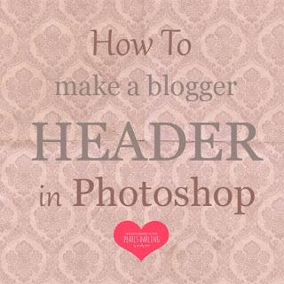 Blogger Header