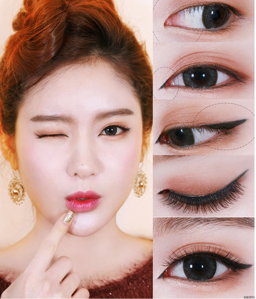 ... Guilt DIY/Tips!!: ASIAN CAT EYE Makeup TUTORIAL STEP-BY-STEP DIY