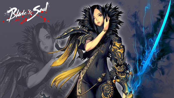 sword sexy girl varel jin blade and soul anime
