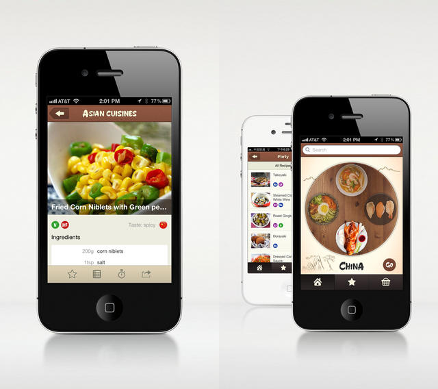 Elinluv 39 s tidbits corner asian cuisine app for iphone for Am asian cuisine