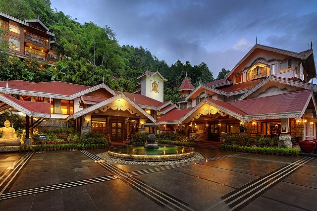 MAYFAIR Spa Resort & Casino, Gangtok is one of the best 5-star luxury hotels in Sikkim.