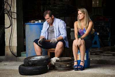 Marlene (Ingrid Guimarães) e Genésio (Leandro Hassum) Crédito: Globo/Tata Barreto