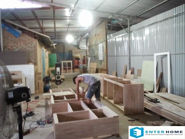 Xưởng gỗ nội thất thi công hà nội