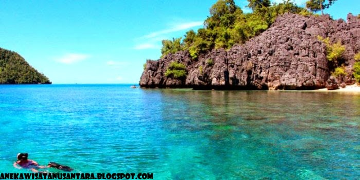 Wisata Pulau Labengki Konawe Utara