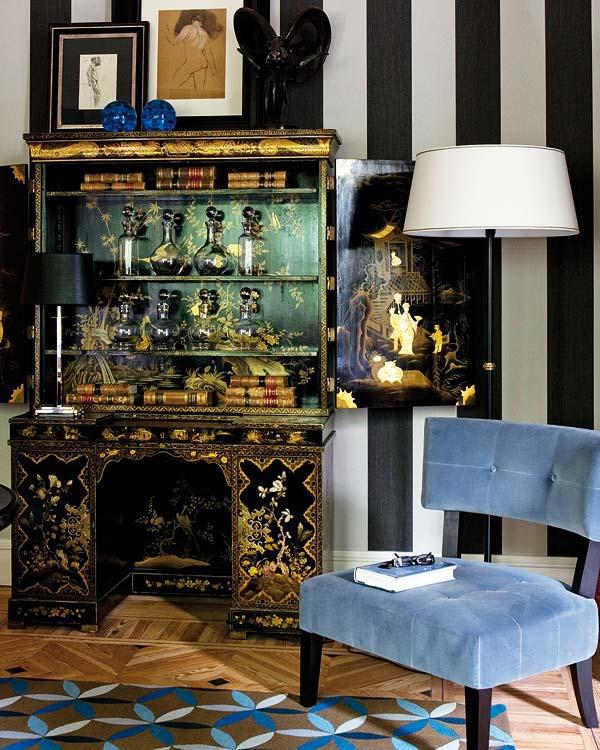 como decorar con muebles chinos -glamour eclectico