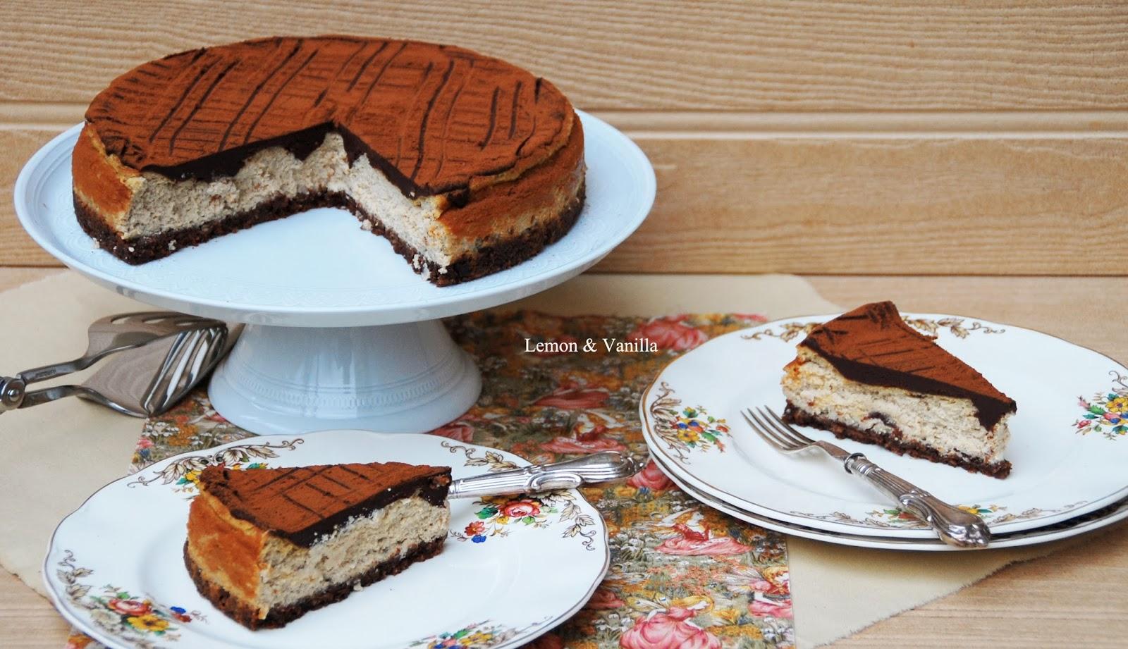 ... : Chocolate and coffee cheesecake / Cheesecake de chocolate e café