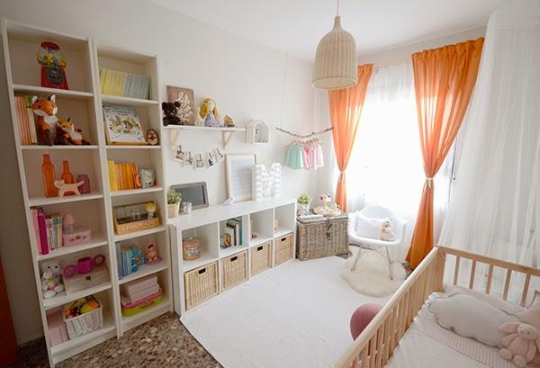 La chica de la casa de caramelo septiembre 2014 for Estanterias habitacion infantil