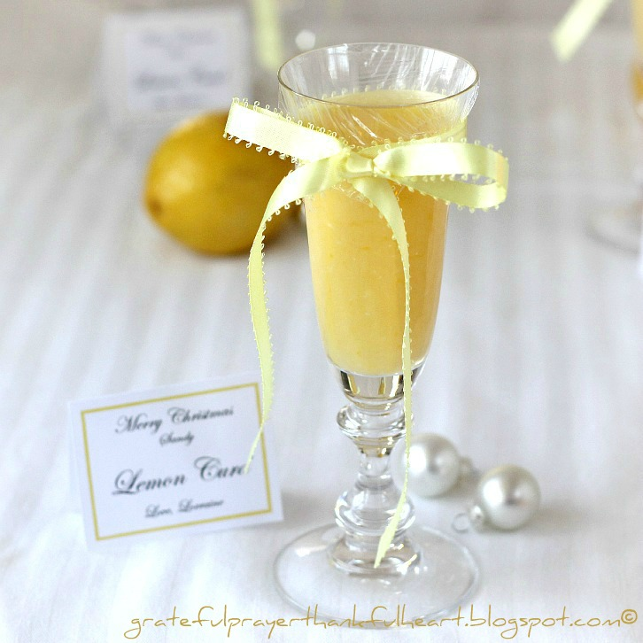 With a Grateful Prayer and a Thankful Heart: Triple-Lemon Cheesecake