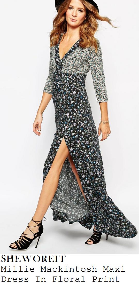 millie-mackintosh-multi-floral-print-deep-v-thigh-split-maxi-dress