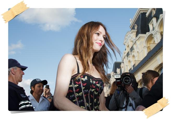 Vanessa Paradis Photos from the Swann Awards - Pics 14