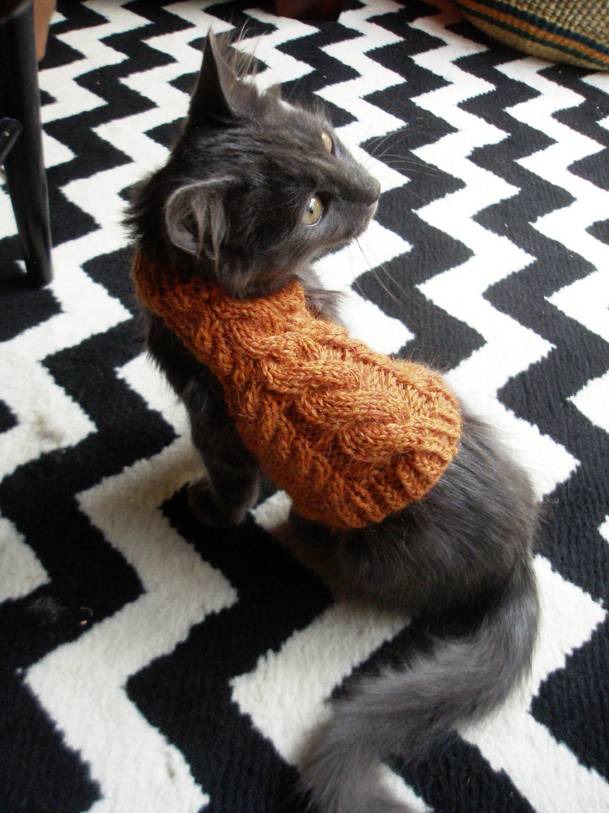 Jumper For Cats Knitting Pattern : gurman fravor: Logs Turtleneck