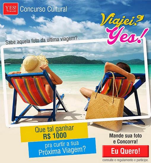 Concurso Cultural 'Viajei?Yes!'