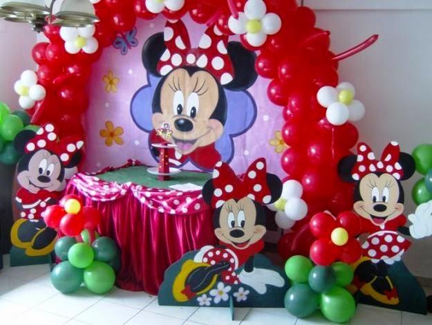 Fiestas infantiles decoradas con minnie for Decoracion de minnie mouse