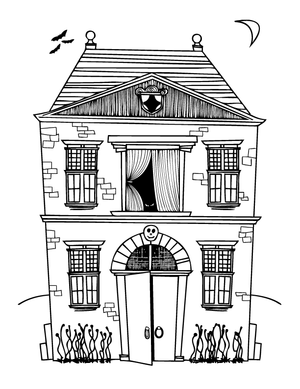 Free Halloween Coloring Pages For Kids  Coloring Pages For Kids