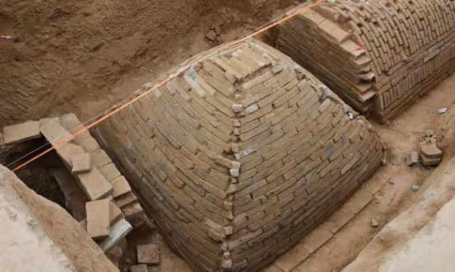 Εντυπωσιακό τύμβο Πυραμίδα ανακάλυψαν στην Κίνα αρχαιολόγοι