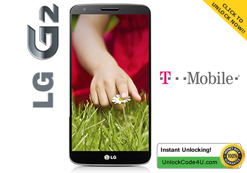 Factory Unlock Code for LG G2 from T-Mobile