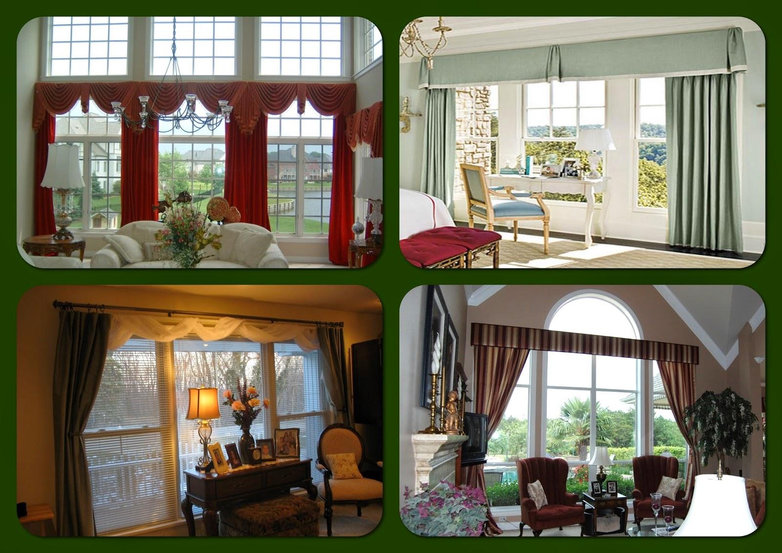 Curtain Ideas For Large Windows Ideas For Interior Design Interior Design