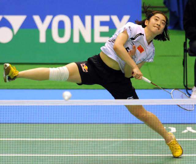 dame double badminton ol