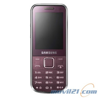 Samsung GT-C3530 Wine Red