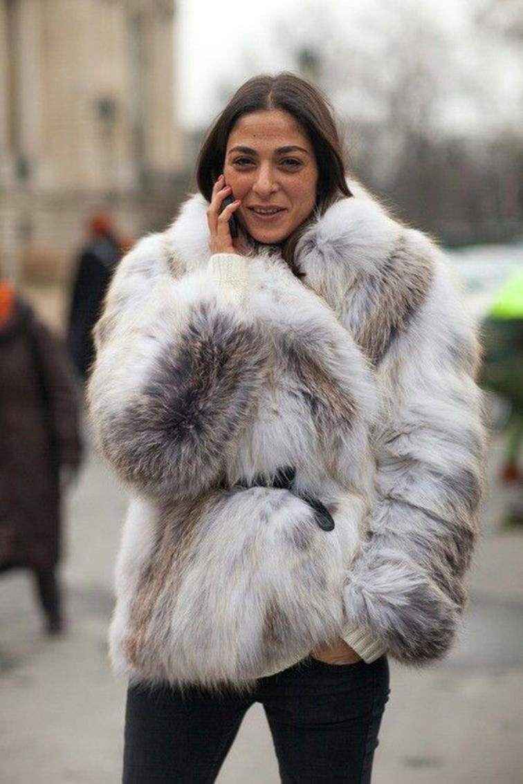 Capucine Safyurtlu, Vogue Paris, Stylist, fur coat, street style, muse