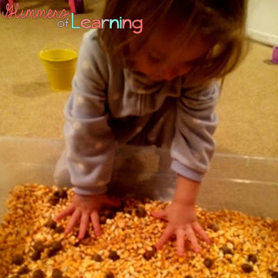 Fall sensory table activities