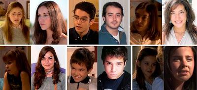 Claudia Molina, Nerea García, Aarón Guerrero, Noelia Ortega, Ruth Rodríguez, Alejandro, Guillermo Gallego