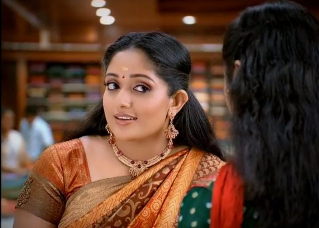 Kavya Madhavan in Saree Kavya Madhavan Cute Saree in